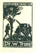 KRIEGSBÜCHER Dr.W.Tropp (odkaz v elektronickém katalogu)