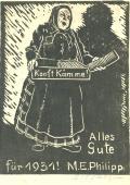Alles Gute für 1931 M.E.Philipp (odkaz v elektronickém katalogu)