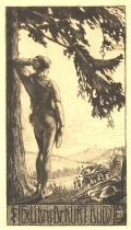 §Exlibris Dr.KURT BUDY (odkaz v elektronickém katalogu)