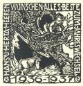 HANS U. HERTA HERREN WÜNSCHEN ALLES BESTE ZUM JAHRESWECHSEL 1936-1937 (odkaz v elektronickém katalogu)