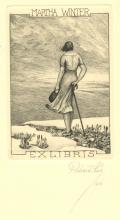 MARTHA WINTER EX LIBRIS (odkaz v elektronickém katalogu)
