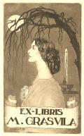 EX-LIBRIS M.GRAS VILA (odkaz v elektronickém katalogu)