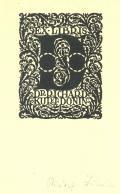 EX LIBRIS DR.RICHARD KURT DONIN (odkaz v elektronickém katalogu)