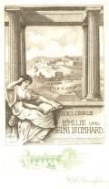 EXLIBRIS EMILIE UND HEINI LEONHARD (odkaz v elektronickém katalogu)