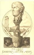 EX LIBRIS JOHANNES W.F.REIMERS (odkaz v elektronickém katalogu)
