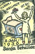 HURRA HELLMUT IST DA! 8.JAN 1936 Sonja Schiller (odkaz v elektronickém katalogu)