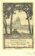 MAX u. TRUDE LICHTENSTEIN GEB. SOMMER 3.11.1918 (odkaz v elektronickém katalogu)