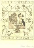 EX LIBRIS FRITZ POLLAK (odkaz v elektronickém katalogu)