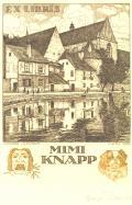 EX LIBRIS MIMI KNAPP (odkaz v elektronickém katalogu)