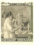 EX LIBRIS SIEGWART HERMANN (odkaz v elektronickém katalogu)