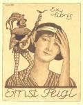 Ex libris Ernst Feigl (odkaz v elektronickém katalogu)