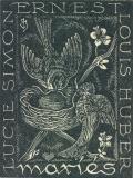 LUCIE SIMON ERNEST LOUIS HUBER maríés (odkaz v elektronickém katalogu)