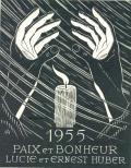 1955 PAIX ET BONHEUR LUCIE ET ERNEST HUBER (odkaz v elektronickém katalogu)