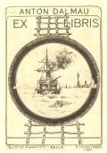 ANTON DALMAU EX LIBRIS (odkaz v elektronickém katalogu)