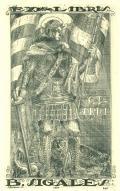 EX LIBRIS B.SIGALÉS (odkaz v elektronickém katalogu)