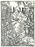 [Čtenářka na lavičce v zahradě] (odkaz v elektronickém katalogu)