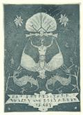 Ein frohes Jahr Willy und Elisabeth Tropp 1927 (odkaz v elektronickém katalogu)