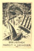 BIBLIOTHEK MARGIT und LEO ADLER 1922 (odkaz v elektronickém katalogu)
