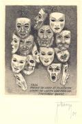 1935 PRECOR TIBI ET FELICITATEM LUCEAT TIBI LAETITIA ANNO NOVO FRANCISCUS BANGE (odkaz v elektronickém katalogu)