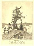 ex líbrís Heínrích Meíer (odkaz v elektronickém katalogu)