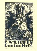 EX-LIBRIS Lucien Noël (odkaz v elektronickém katalogu)
