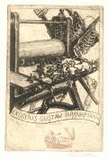 EXLIBRIS GUSTAV BRINKMANN (odkaz v elektronickém katalogu)