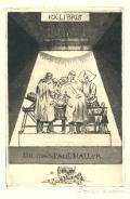 EX LIBRIS DR. med. PAUL HALLER (odkaz v elektronickém katalogu)