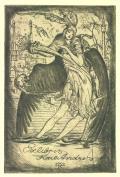 Exlibris Karl Andres (odkaz v elektronickém katalogu)
