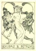 EXLIBRIS B. PETRLÍK (odkaz v elektronickém katalogu)