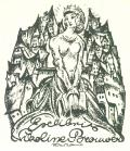 Exlibris Nikoline Brouwer (odkaz v elektronickém katalogu)