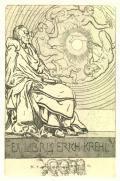 EX LIBRIS ERICH KREHL (odkaz v elektronickém katalogu)