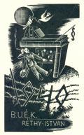 1940 B.U.É.K. RÉTHY ISTVÁN (odkaz v elektronickém katalogu)