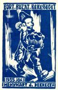 BORT-BUZÁT-BÉKESSÉGET 1935 MENYHÁRT J. (odkaz v elektronickém katalogu)