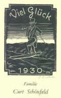 Viel Glück 1930 Familie Curt Schönfeld (odkaz v elektronickém katalogu)