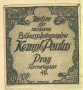 Atelier für moderne Bilónisphotographie Kempf&Paulus Prag (odkaz v elektronickém katalogu)