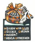 MÖGEN WIR NUR SÜSSES DRINN FINDEN! THEKLA OSTREICHER (odkaz v elektronickém katalogu)