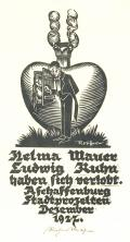 Helma Mauer Ludwig Kuhu haben sich verlobt (odkaz v elektronickém katalogu)