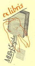 ex libris MUDR.J.Švejda (odkaz v elektronickém katalogu)