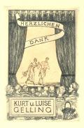 HERZLICHEN DANK KURT u. LUISE GELLING (odkaz v elektronickém katalogu)