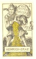 EIN GUTES NEUJAHR 1931 HEINRICH GRAF (odkaz v elektronickém katalogu)
