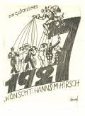 EIN GLÜCKLICHES 1927 WÜNSCHT: HANNS M. HIRSCH (odkaz v elektronickém katalogu)