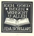 EEN GOED BEGIN WENSCHT U ALLEN J.D.A. SCHELLART (odkaz v elektronickém katalogu)