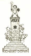 1923 VIEL GLÜCK IM NEVEN JAHR! (odkaz v elektronickém katalogu)