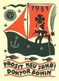 1931 PROSIT NEU JAHR! DOKTOR DONIN (odkaz v elektronickém katalogu)