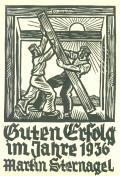 Guten Erfolg im Jahre 1936 Martin Sternagel (odkaz v elektronickém katalogu)