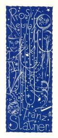 Prosit Neujahr 1934 Franz Slatner (odkaz v elektronickém katalogu)