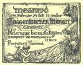 Meghivó 1935 Február 24 déli 12 órakor  .. Pinterits Tiborné (odkaz v elektronickém katalogu)