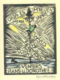 DASS ES IM NEUEN 1931 JAHRE ...wünschen VENTERS HANS U. DOROTHEE (odkaz v elektronickém katalogu)