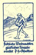 Fröhliche Weihnachten glückliches Neujahr wünscht P.H. Schulthes (odkaz v elektronickém katalogu)