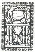 WAS WÜNSCH ICH EUCH ZUM NEUEN JAHR GLÜCK REICHTUM UND FRIEDE GAR HIER IST DIE URNE: KLEIN V.GROSS ZIEH JEDER SICH SEIN EIGEN LOS! (odkaz v elektronickém katalogu)